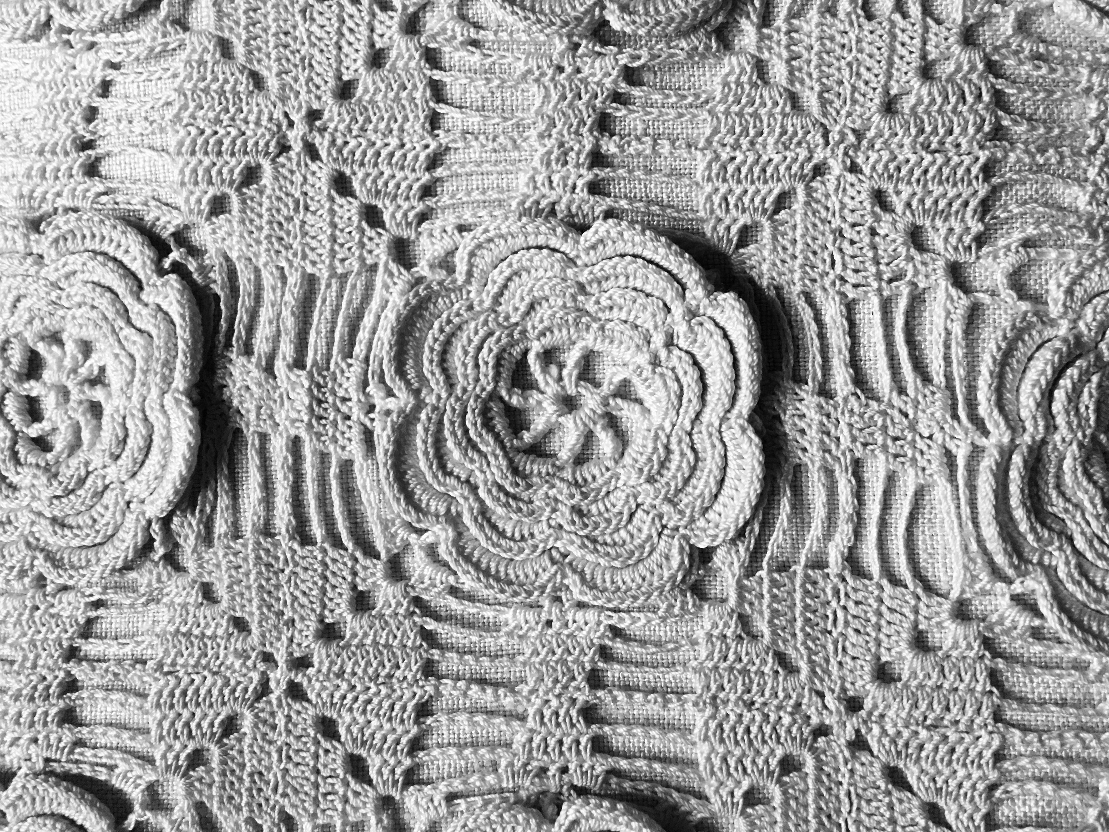 Free Two Layer Irish Crochet Rose Pattern