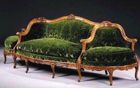 Canape A Confidante Sofa