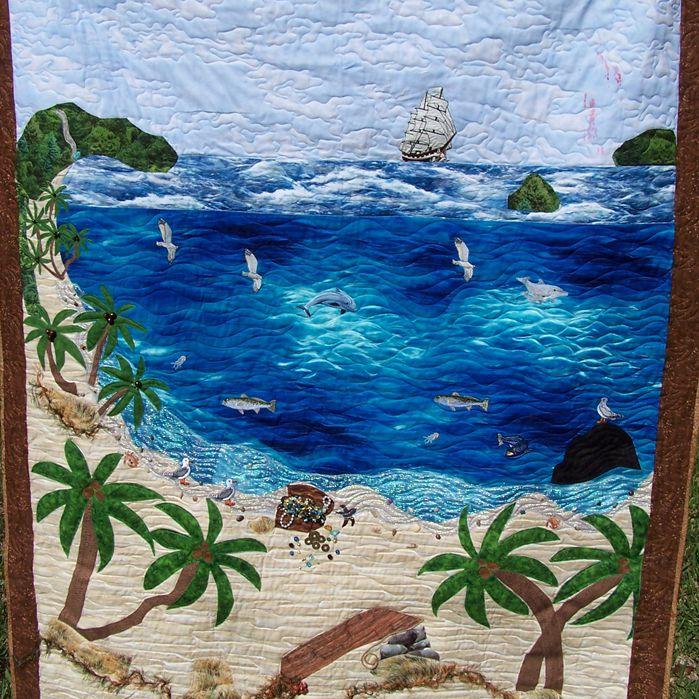 Pirates Cove Landscape Quilt