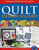 The cover of Quilt Design Wizard
