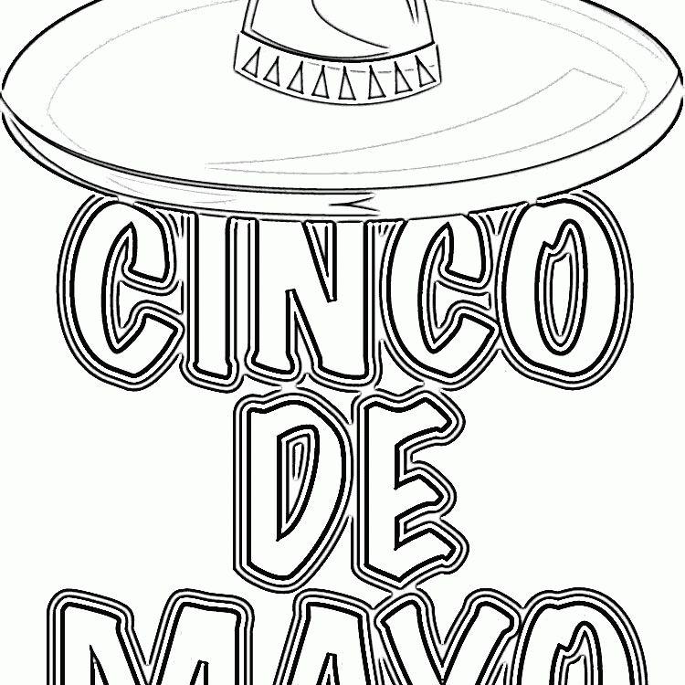 Free Cinco de Mayo Coloring Pages