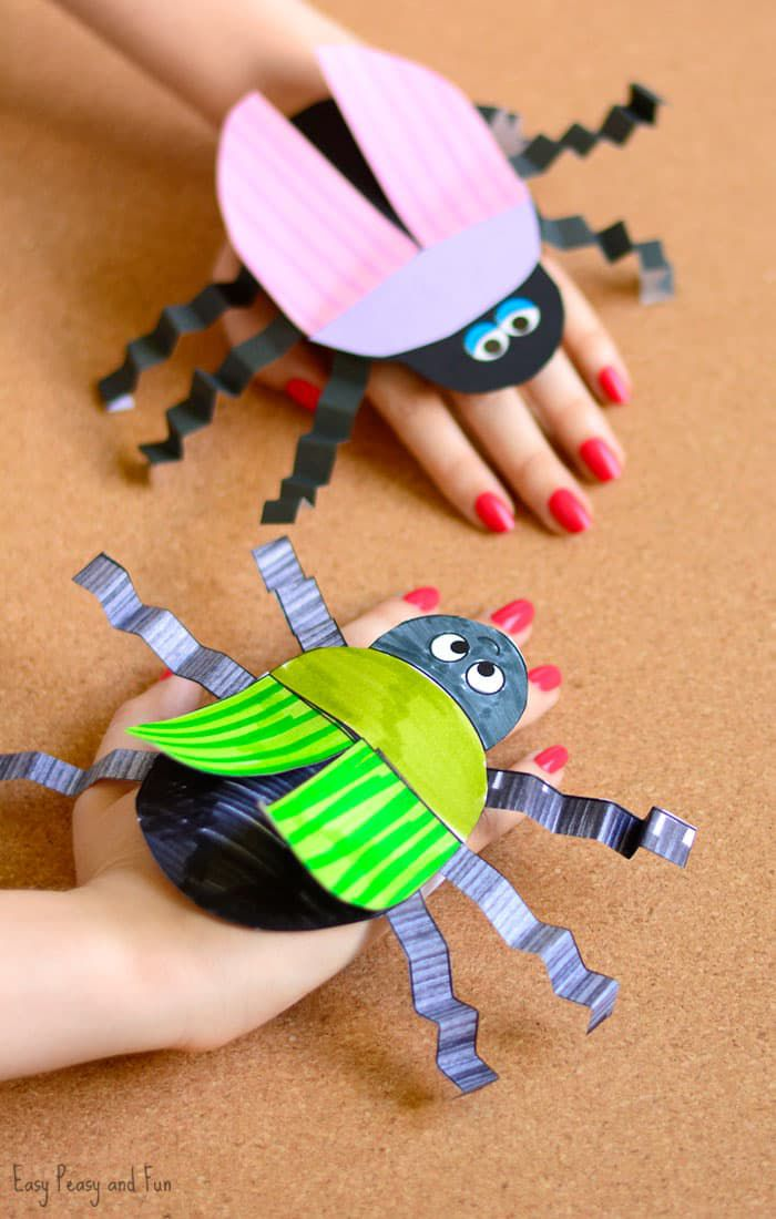 15 Cute And Crawly Insect Crafts For Kids