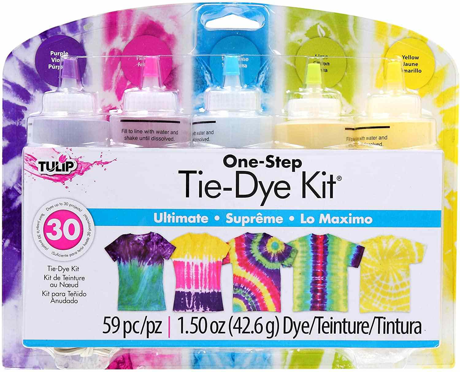 Tulip One-Step 5 Color Tie-Dye Kits Ultimate