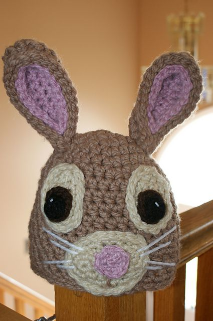 Adorable Bunny Hat Crochet Patterns For Easter