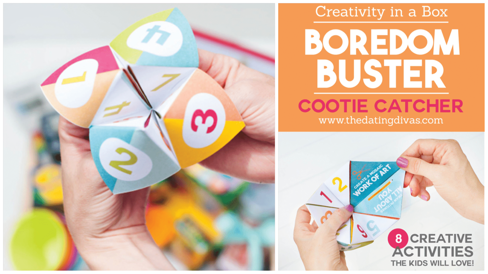 Boredom buster cootie catcher