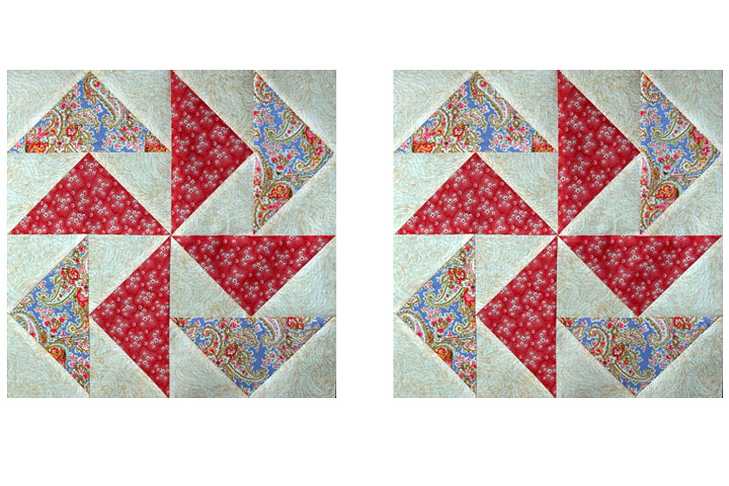 Make Easy Flying Geese Quilt Blocks With No Fabric Waste