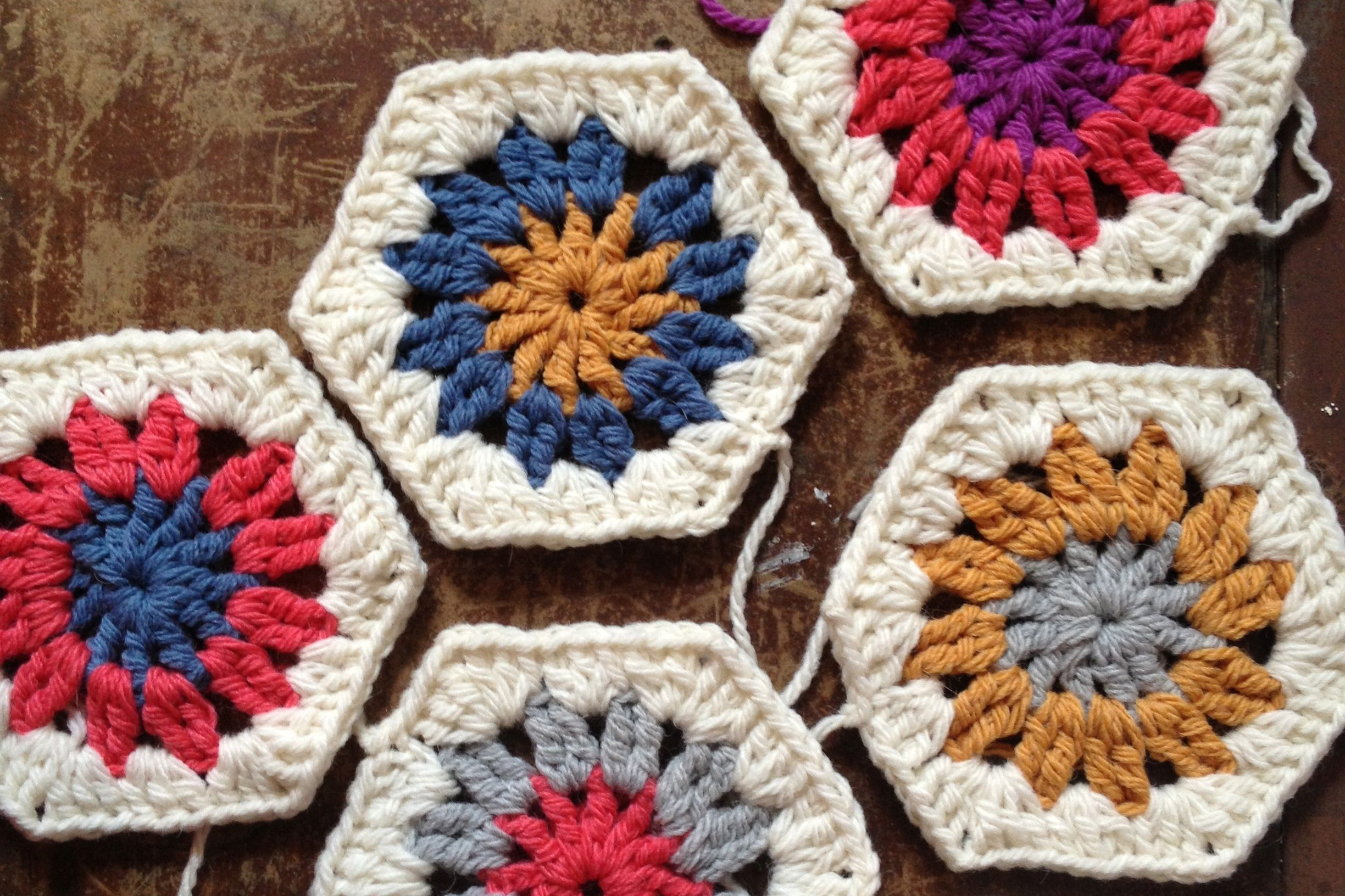 Free Hexagon Crochet Patterns