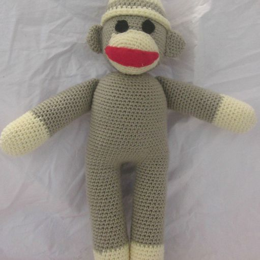 cdad5cf246c Sock Monkey Stuffed Animal Free Crochet Pattern