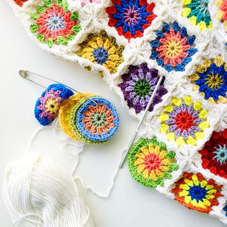 40 Free Crochet Afghan Square Patterns Interesting Free Granny Square Patterns