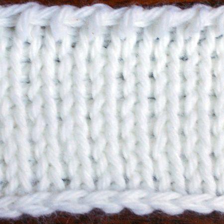 Tunisian Knit Stitch Picture Tutorial