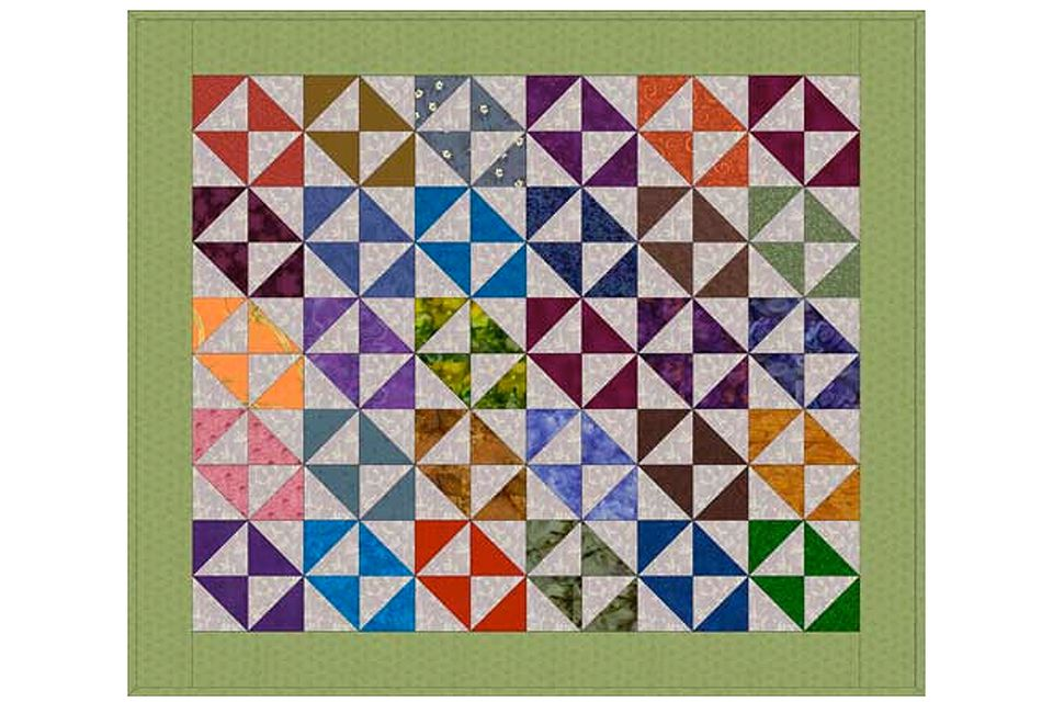 Broken Dishes Quilt Pattern