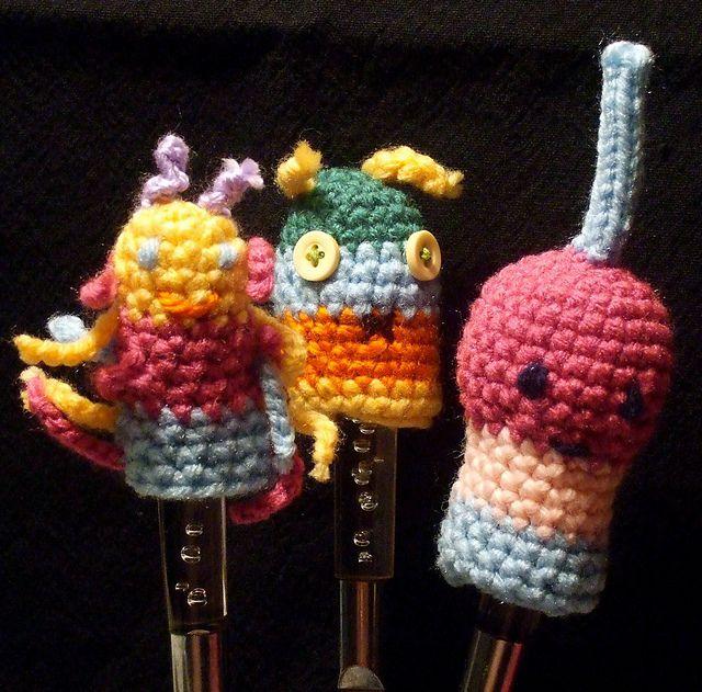 10 Free Finger Puppet Crochet Patterns