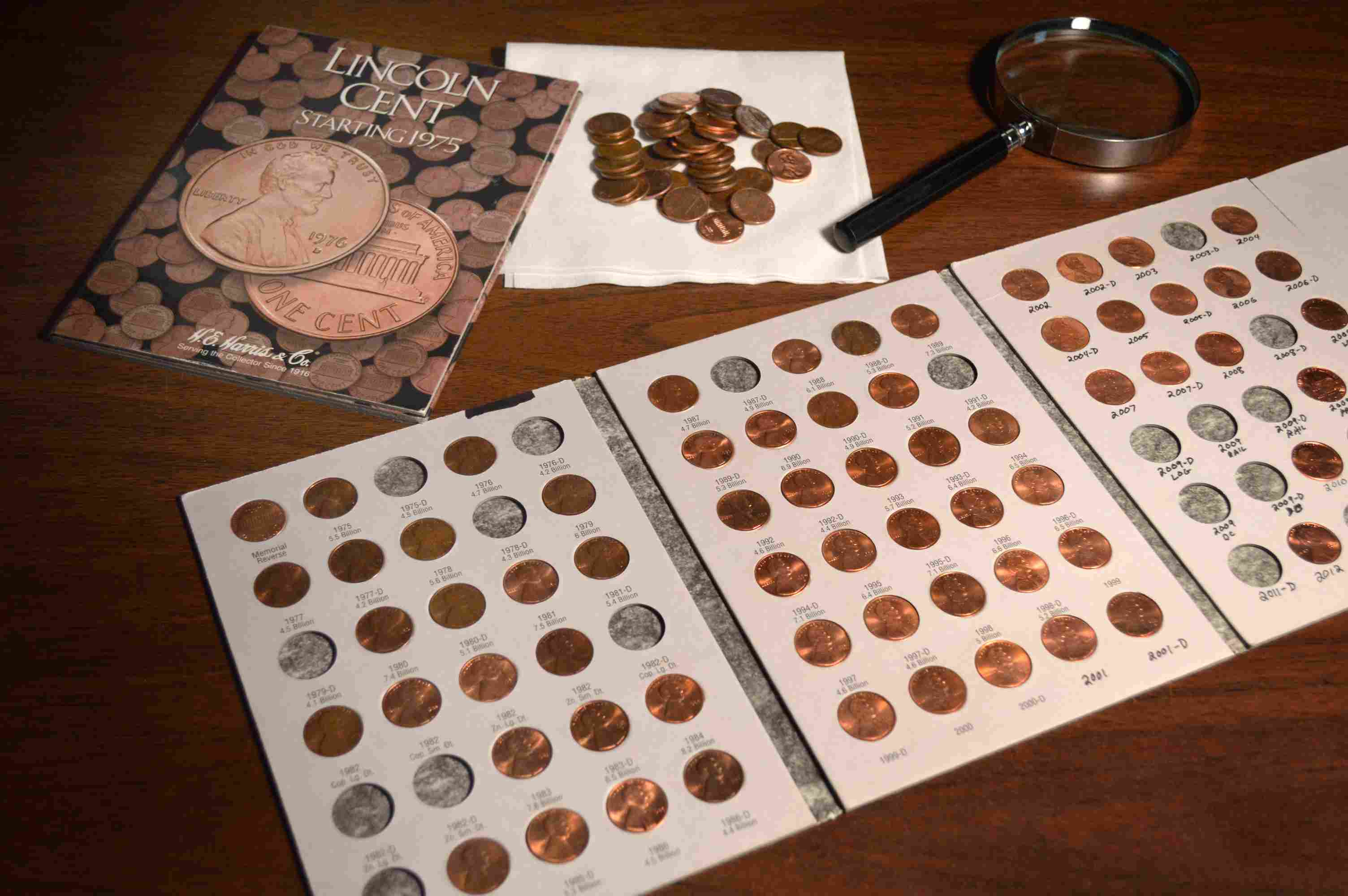 Lincoln Penny Collections