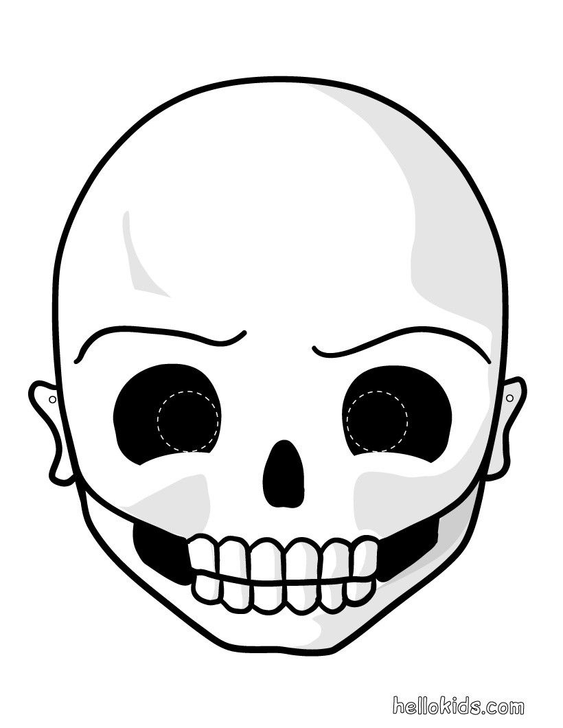 72 free printable halloween masks for all ages