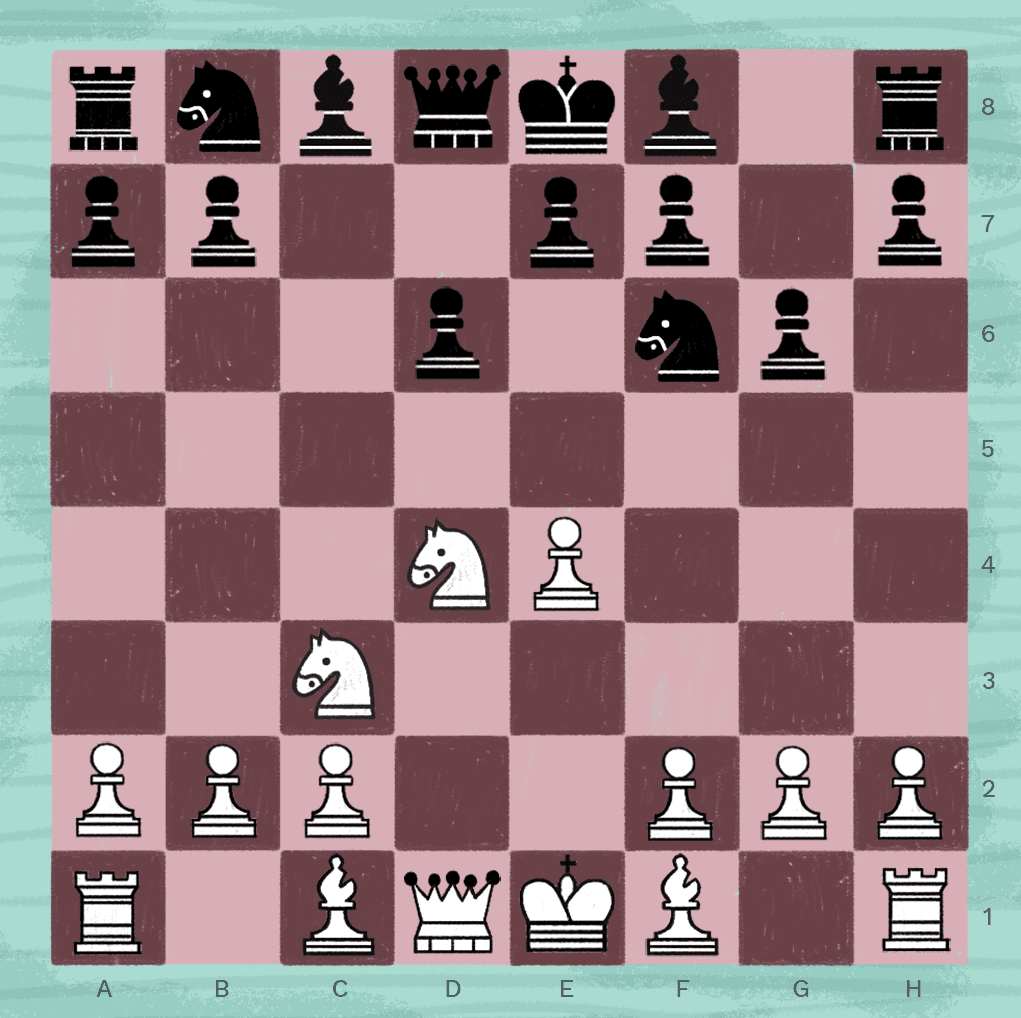Dragon variation in chess