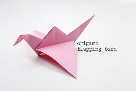 93 Moving Origami Instructions Origami Flapping Bird Tutorial