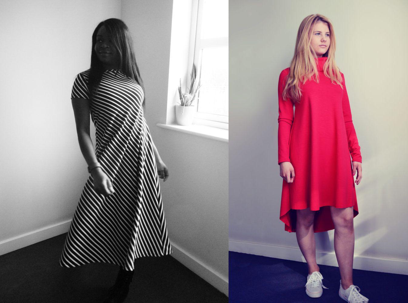 Groove T-Shirt Dress Pattern