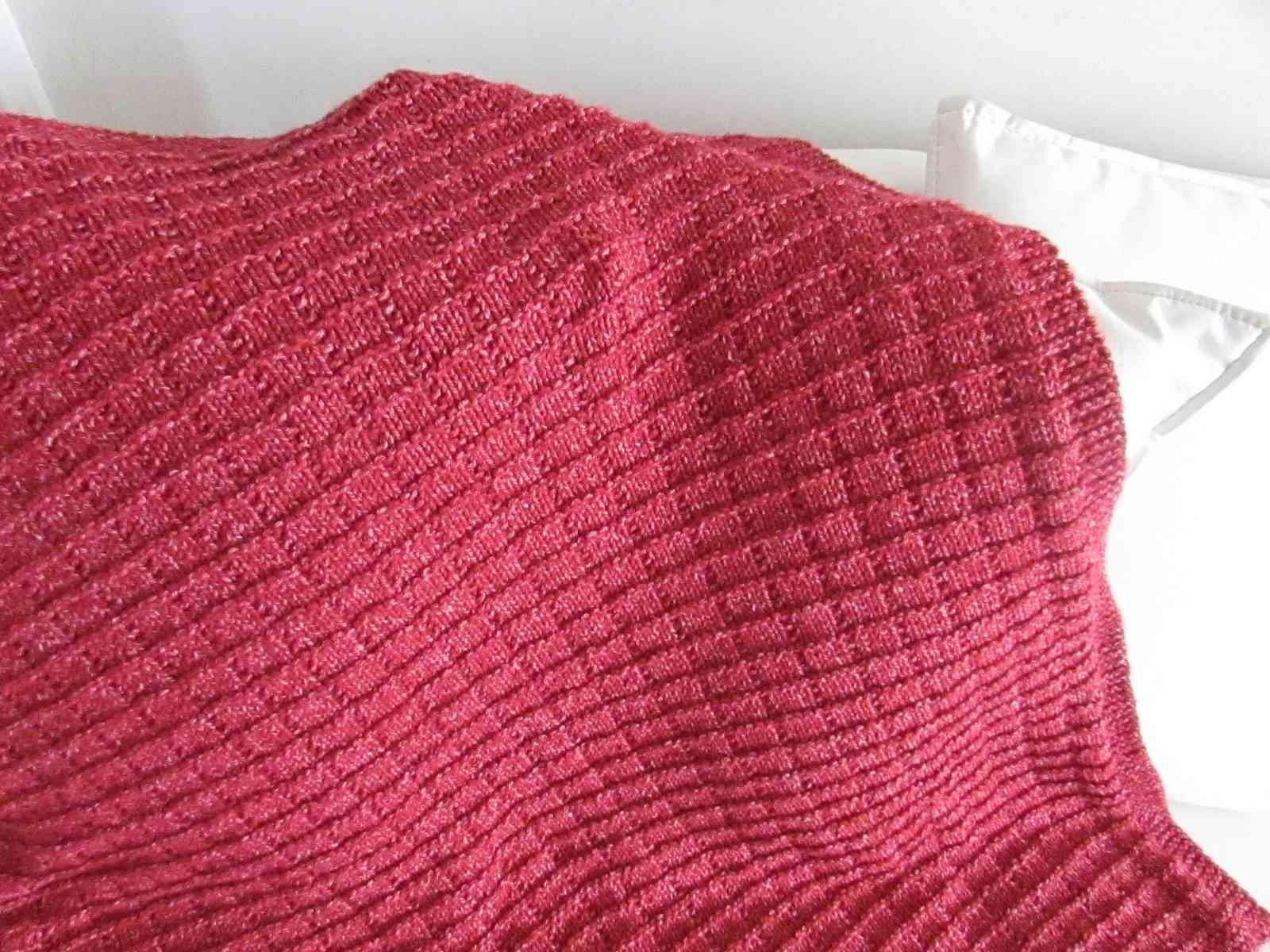Becker Throw Knitting Pattern