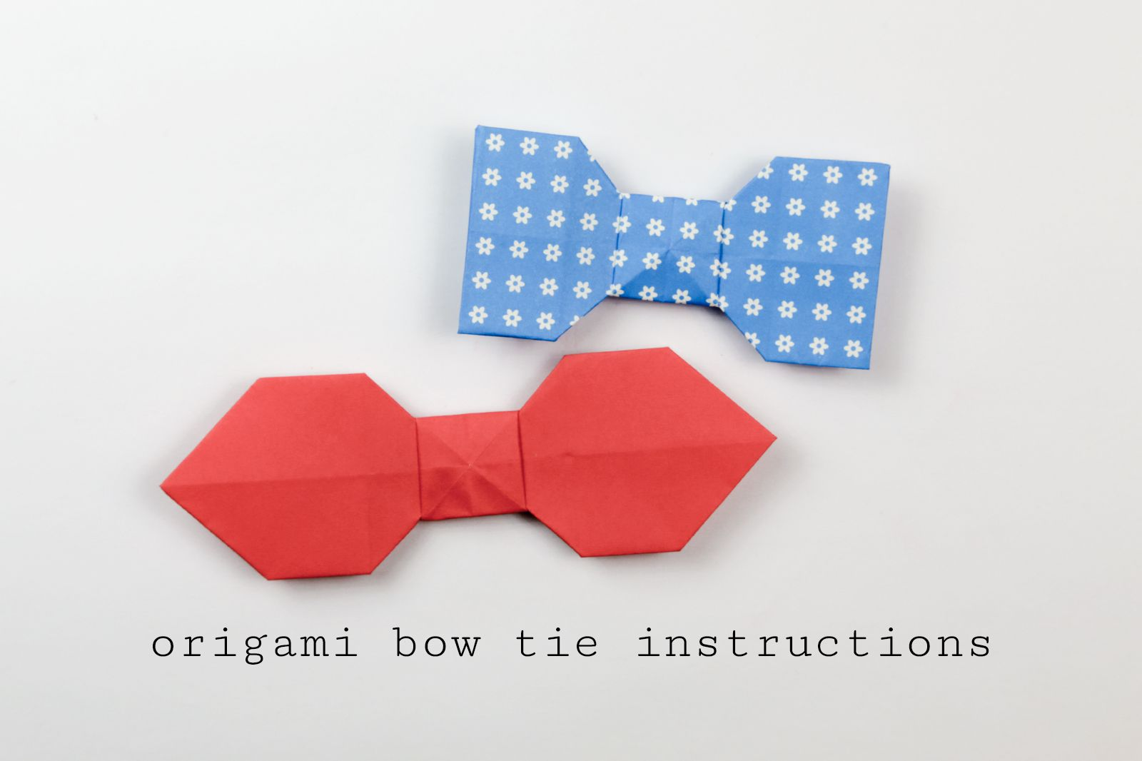How to Make a Cute Paper Bow For Kids - YouTube | 1066x1600