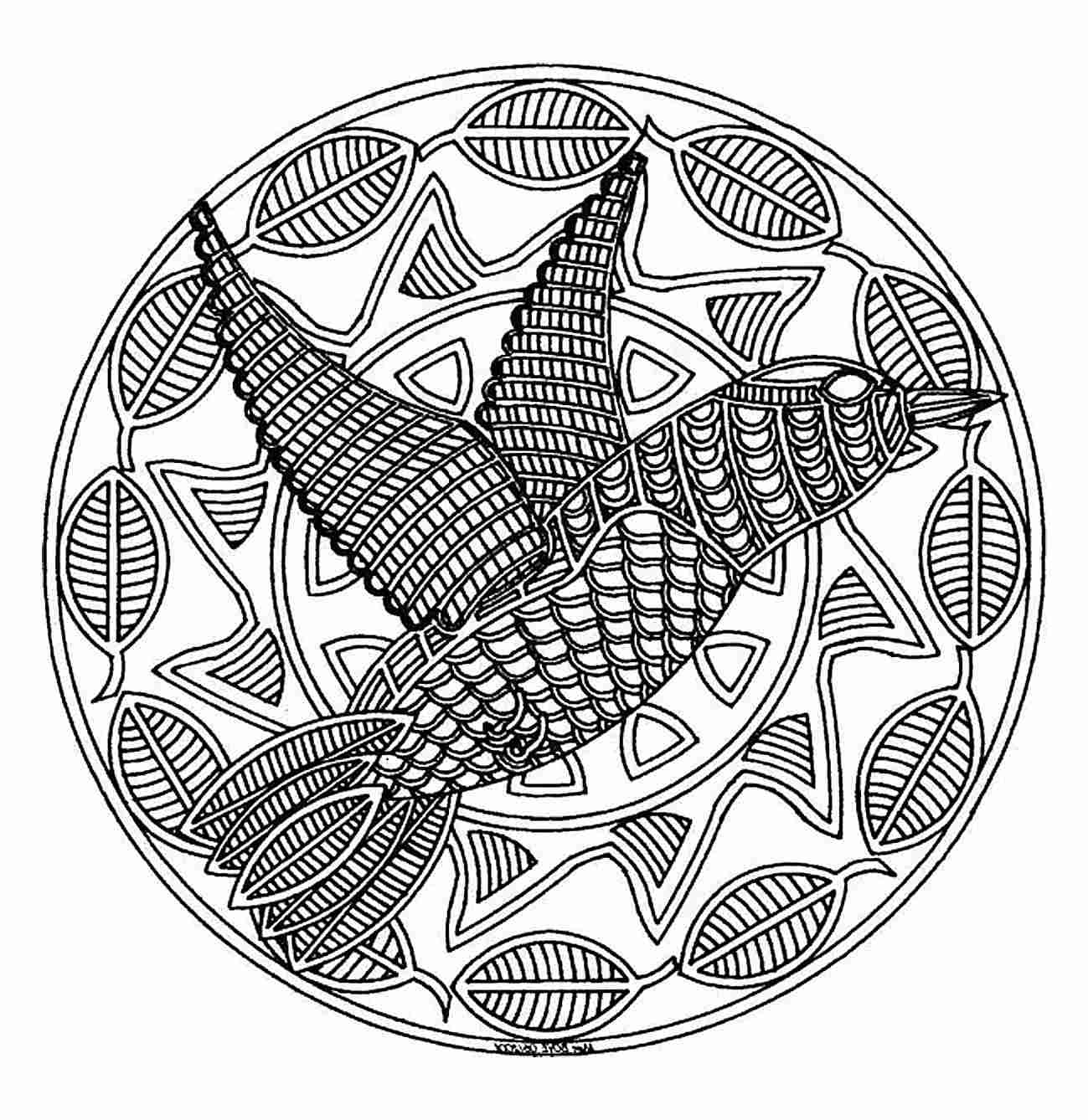 1075 Free Printable Mandala Coloring Pages For Adults