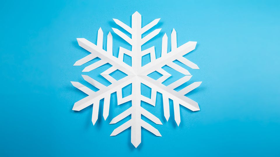 Kirigami Snowflake Instructions 00