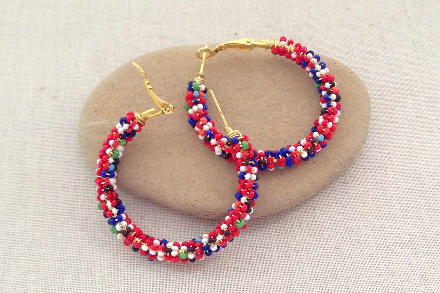9 Easy Beaded And Wire Wrap Earrings To Make