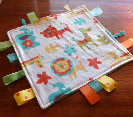 Baby Tag Blankets Free Sewing Patterns