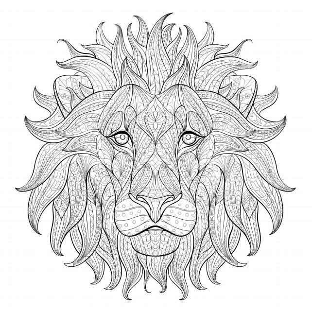 New Free, Printable Coloring Pages for Adults @BX74