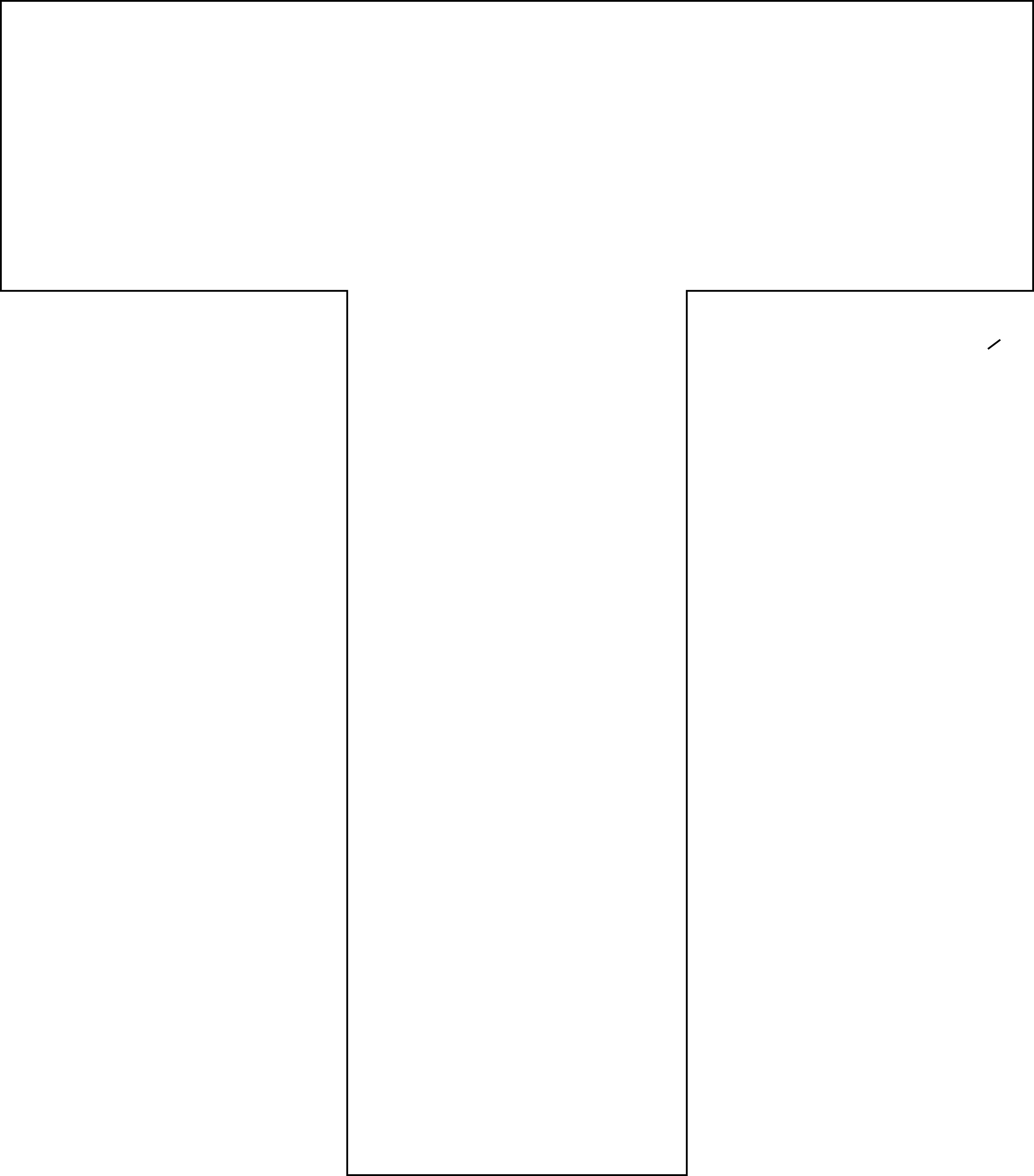 Free Printable T Template