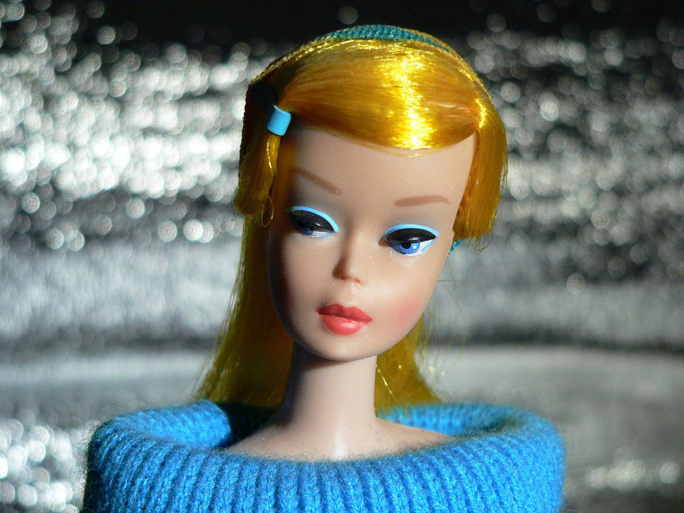 A 1966 barbie doll.