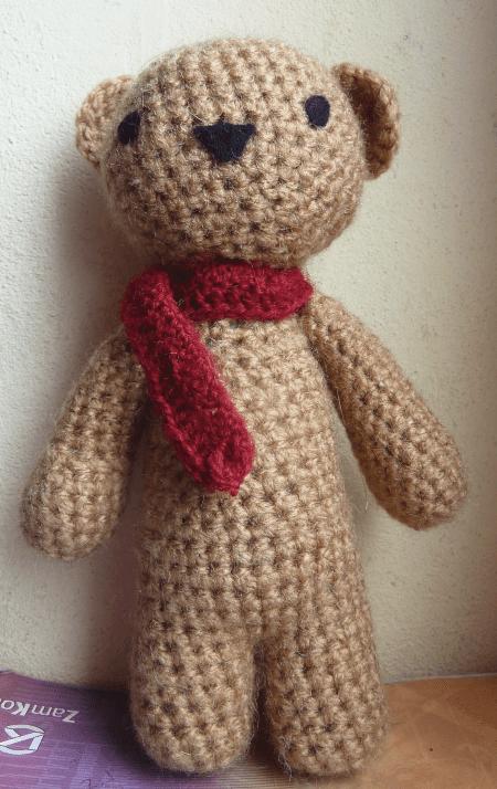 Classic Crochet Teddy Bear Free Pattern