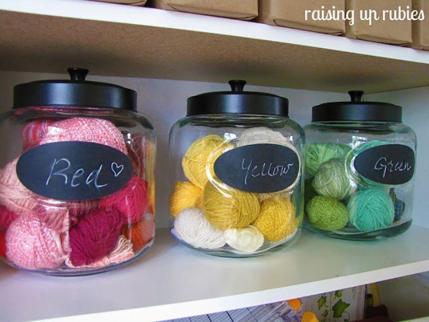 yarn organization ideas