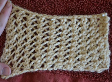 All About Faggoting Lace And How To Knit It