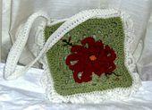 Granny Square Crochet Tote Bag