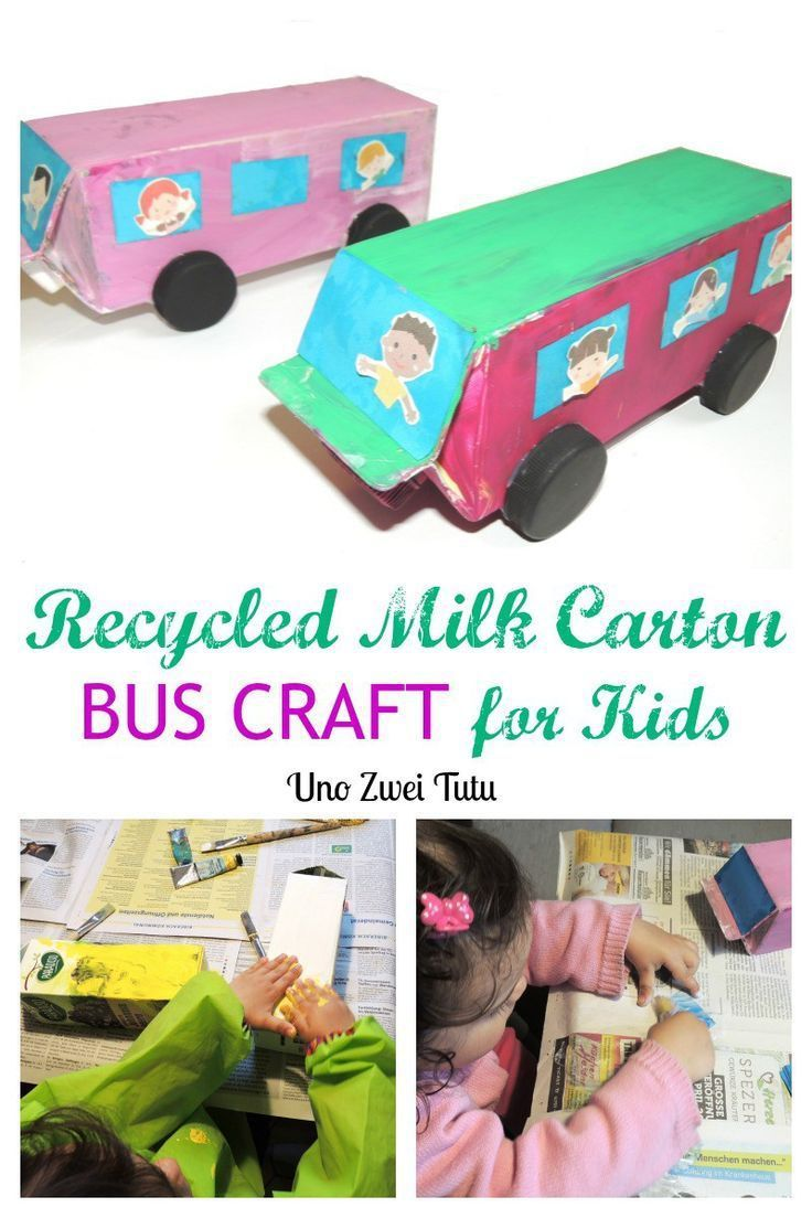 20 recycled crafts for kids