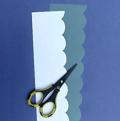 Cut Out Your Scalloped Ruler Ludens