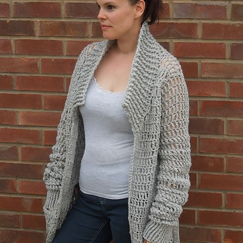 60 Gorgeous Free Crochet Cardigan Patterns For Women Unique Crochet Long Cardigan Pattern