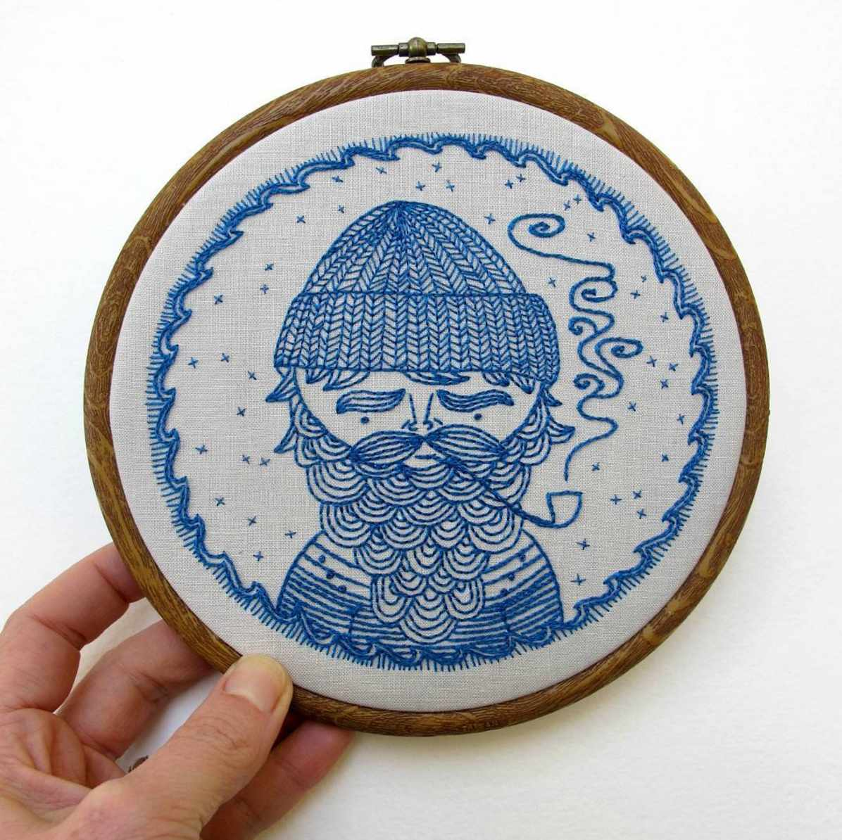 Beautiful Linework and Printed Fabric Patterns