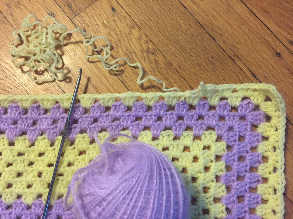 Frogging Crochet