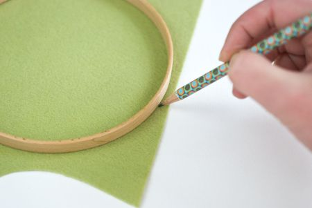 Finishing The Back Of Hooped Embroidery