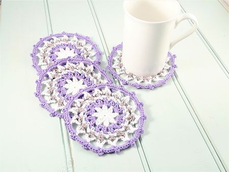 60 Creative Crochet Coaster Patterns Beauteous Crochet Coaster Pattern