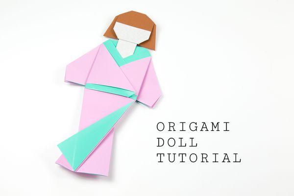 japanese origami doll tutorial 00