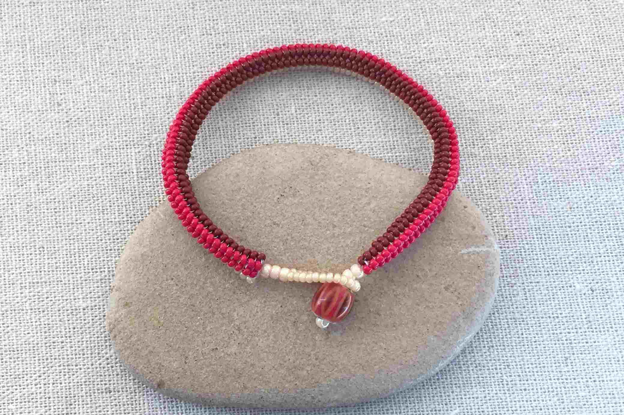 Tubular Herringbone Bracelet Tutorial