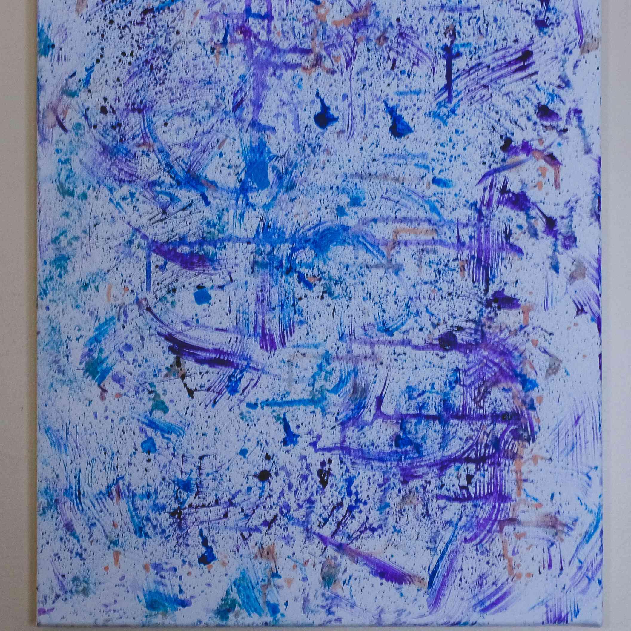 splatter painting tutorial