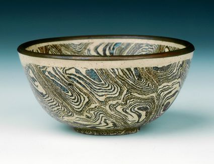 Agateware and how is it created