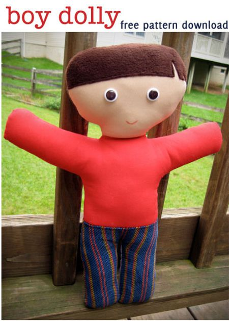 The 20 Best Free Doll Patterns