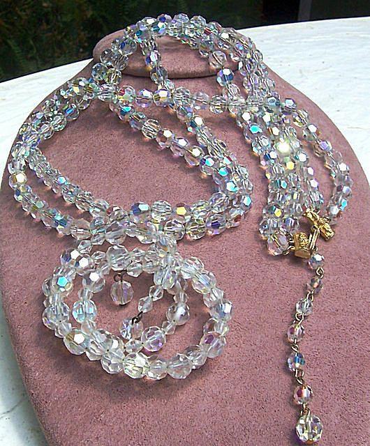 Alice Caviness Crystal Necklace & Bracelet Set