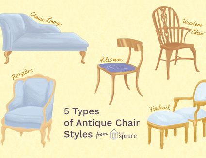 Different Types of Antique Chairs and How to Identify Them - Upholstered Antique Chair Styles