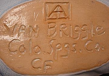 Van Briggle Pottery Co. - Colorado Springs, Colorado Vanbriggle Pottery Co. Mark Used After 1920