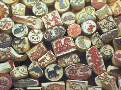 Make Your Own Custom Rubber Stamps By Carving Art Gum Erasers